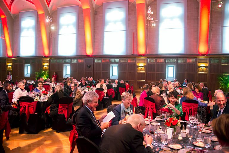 Celebration of Distinguished Teaching dinner